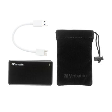 Verbatim 128GB Store 'n' Go USB 3.0 External SSD - Black