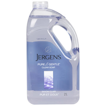 Jergens Pure and Gentle Clear Soap Refill - 2L
