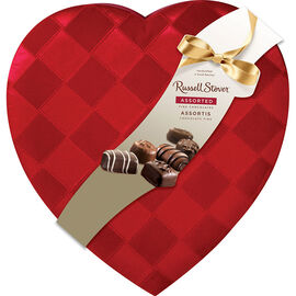 Russell Stover Ribbon Weave Heart - 340g
