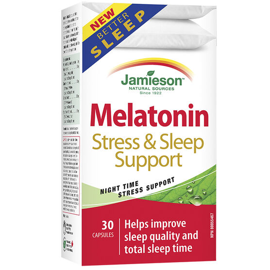 Jamieson Melatonin Sleep & Stress Support - 30's