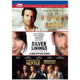 Burnt/Silver Linings Playbook/American Justle - DVD