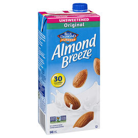 Blue Diamond Almond Breeze - Unsweetened Original - 946ml