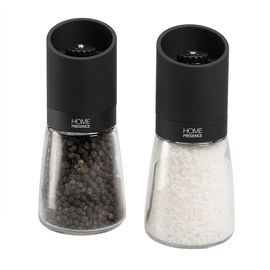 Home Presence Salt & Pepper Mill - Clear/Black