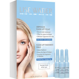 Lise Watier Flash Lift Radiance Vials - 7 x 1ml