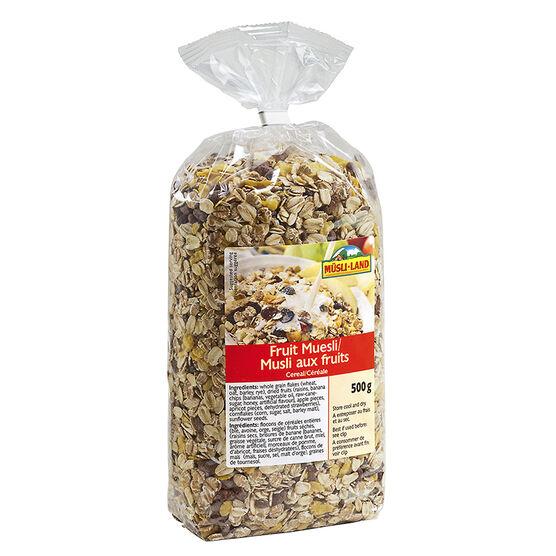 Musli-Land - Fruit Muesli Cereal - 500g