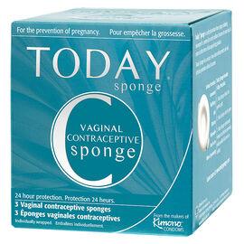 Today Sponge Vaginal Contraceptive Sponge - 3's
