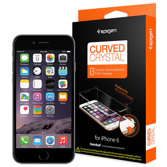 Spigen Curved Film Screen Protector for iPhone 6 - SGP11299