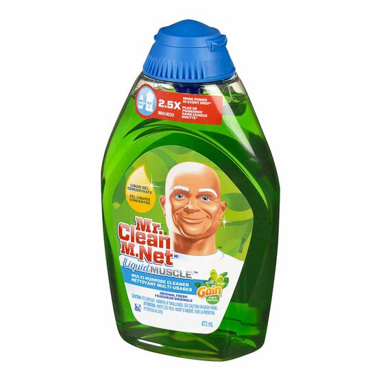 Mr. Clean Liquid Gel Muscle Multi-Purpose Cleaner with Gain - 473ml