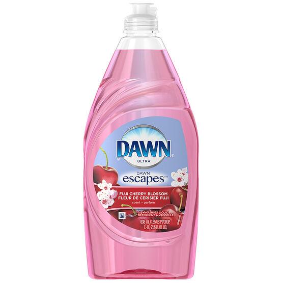 Dawn Ultra Dishwashing Liquid - Fuji Cherry Blossom - 638ml