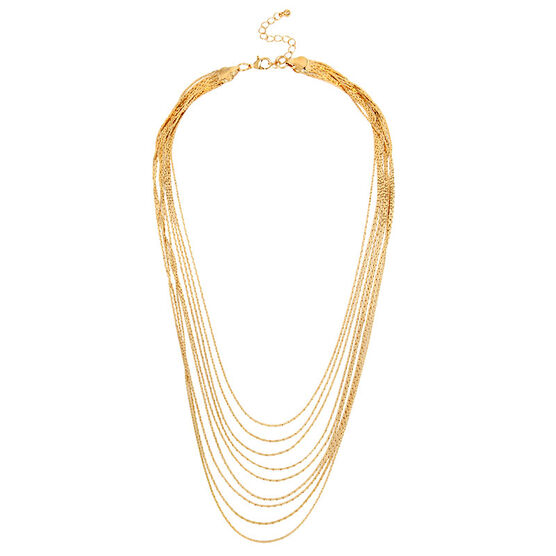 Haskell Layered Necklace - Gold