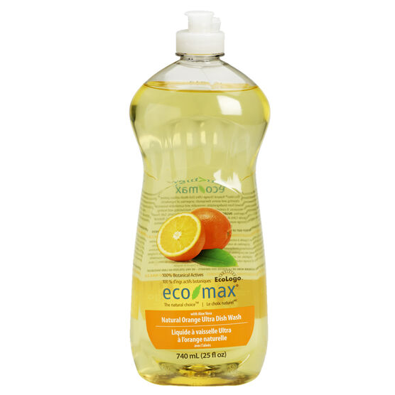 Eco Max Dish Washing Liquid - Orange - 740ml