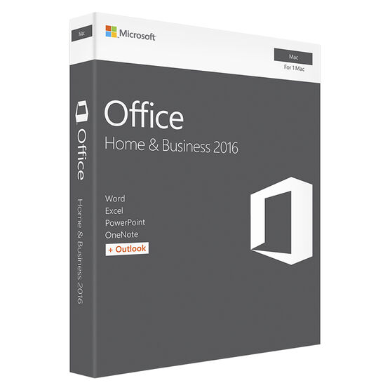 Microsoft Office Home & Business 2016 for Mac - 1 Mac