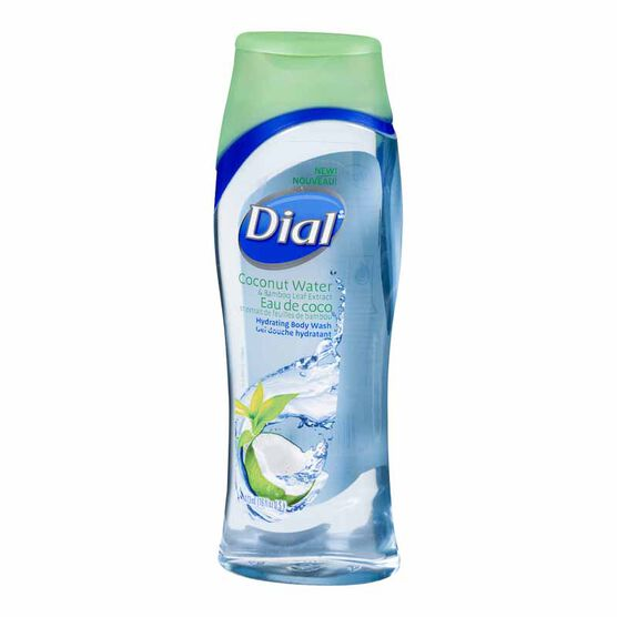 Dial Hydrating Body Wash - Coconut Water & Bamboo Leaf Extract - 473ml