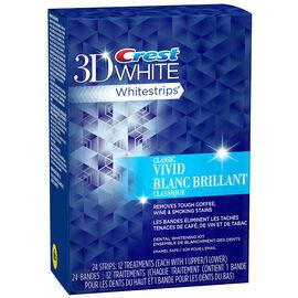 Crest 3D White Whitestrips - Classic Vivid - 12's