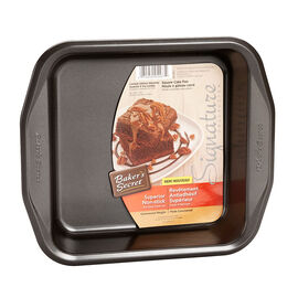 Baker's Secret Square Cake Pan - 20.4 x 20.4 x 3.8cm