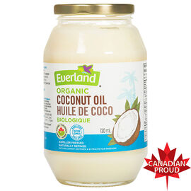 Everland Organic Coconut Oil - 720ml