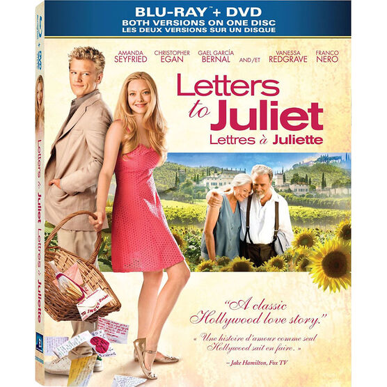 Letters To Juliet - Blu-ray + DVD