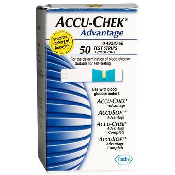 Accu-Chek Advantage Test Strips - 50's