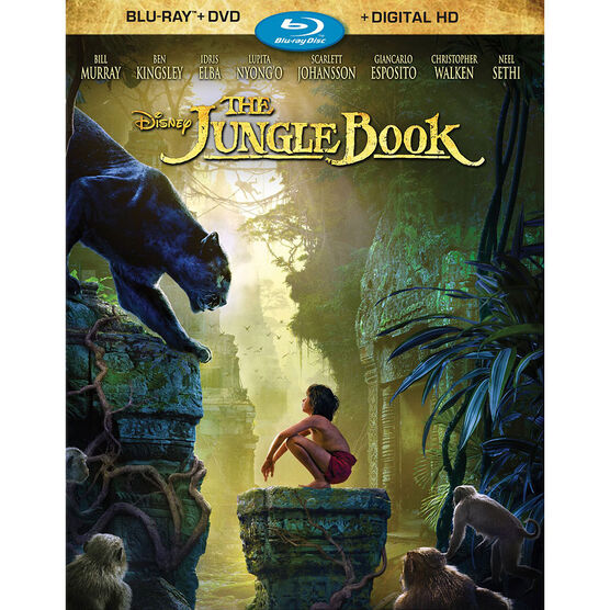 The Jungle Book (2016) - Blu-ray