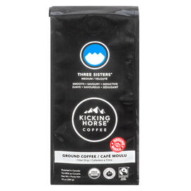 Kicking Horse Coffee Three Sisters - Medium Roast - Ground - 284g