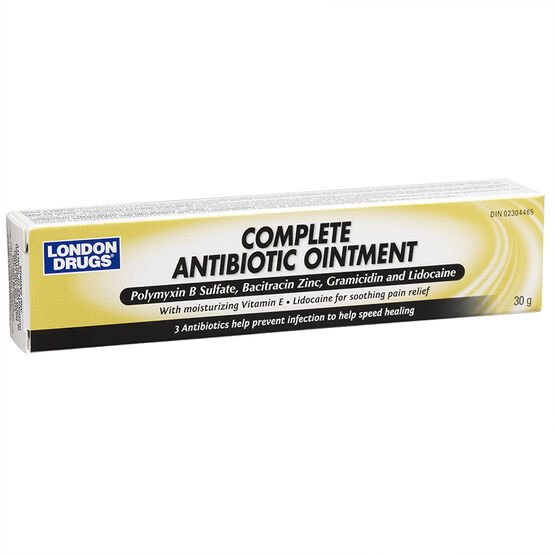 London Drugs Antibiotic Ointment - Complete -30g