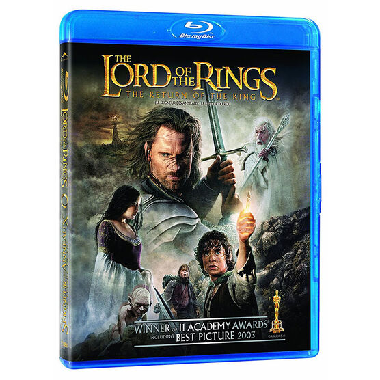 The Lord of the Rings: The Return of the King - Blu-ray + Digital