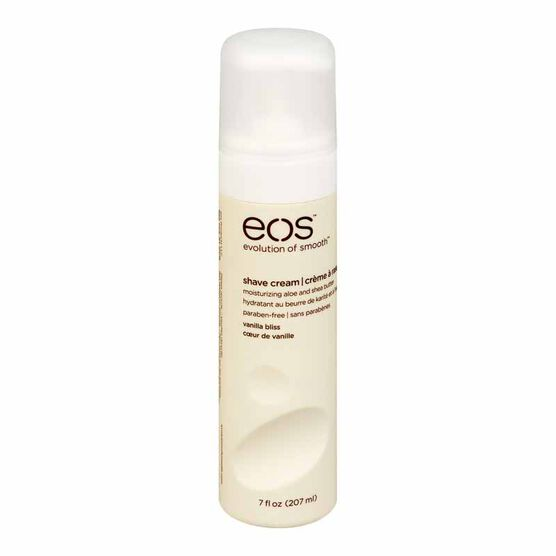 eos Ultra Moisturizing Shave Cream - Vanilla Bliss - 207ml
