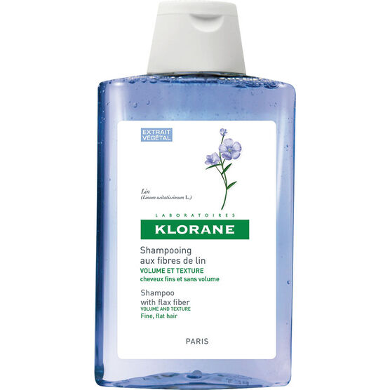 Klorane Shampoo with Flax Fibre - Volume & Texture - 200ml