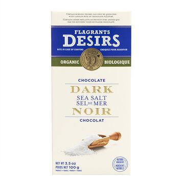 Flagrants Desirs - Sea Salt Dark Chocolate - 100g