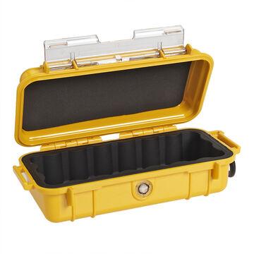 Pelican 1030 Micro Case Solid Dry Box - Yellow