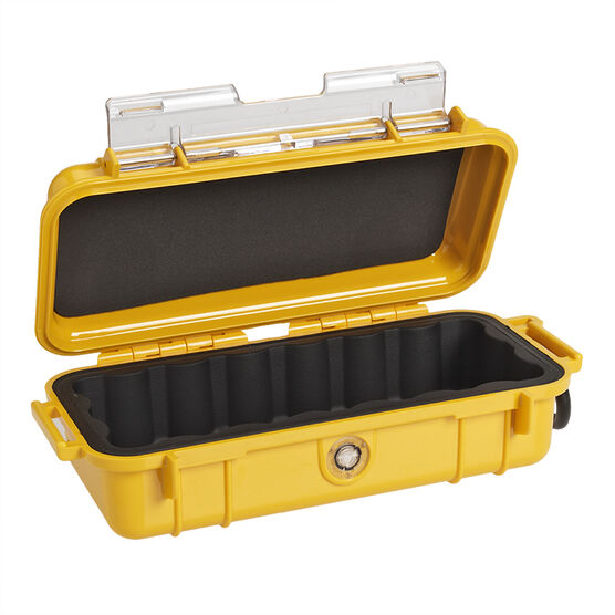 Pelican 1030 Micro Case Solid Dry Box - Yellow