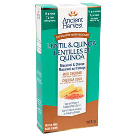Ancient Harvest Lentil & Quinoa Macaroni & Cheese - 185g