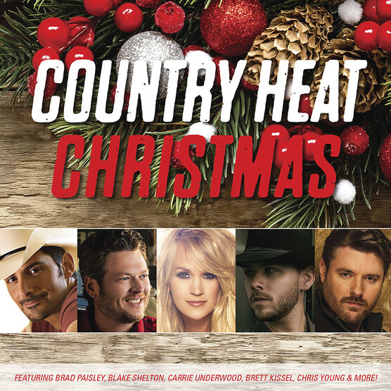 Various Artists - Country Heat Christmas - CD