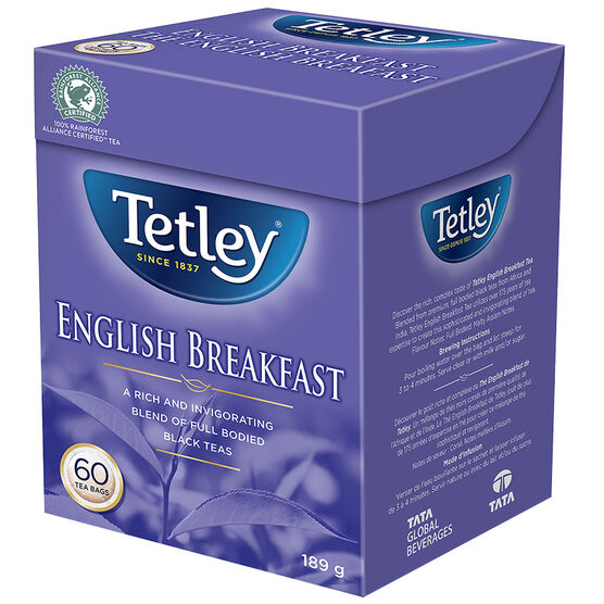 Tetley Tea - English Breakfast - 60's