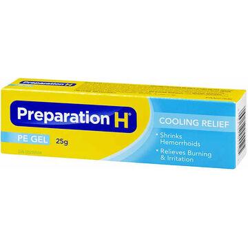 Preparation H Cooling Gel - 25g