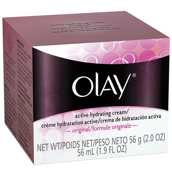 Olay Active Hydrating Cream - 56g