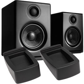 Audioengine A2+ Premium Powered Desktop Speakers with Stands - Black