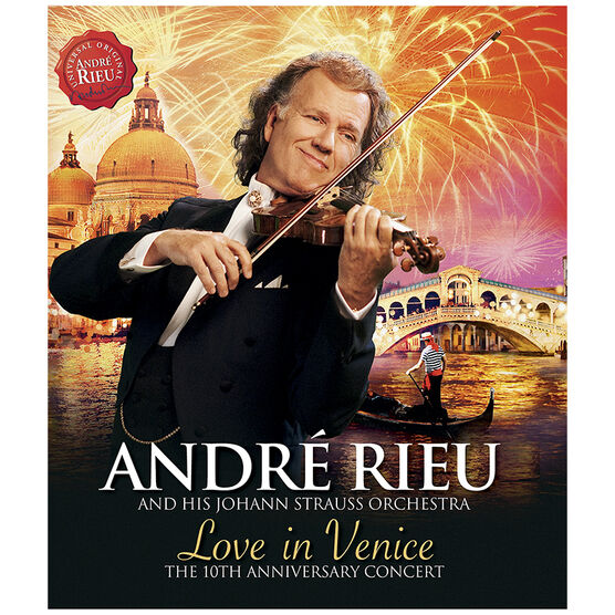 Andre Rieu - Love In Venice - Blu-ray