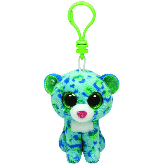 Ty Beanie Boos Clip - Leona the Blue Leopard