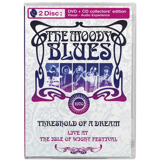 The Moody Blues - Threshold of a Dream: Live - DVD + CD