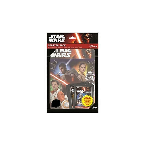 Star Wars Sticker Starter Kit