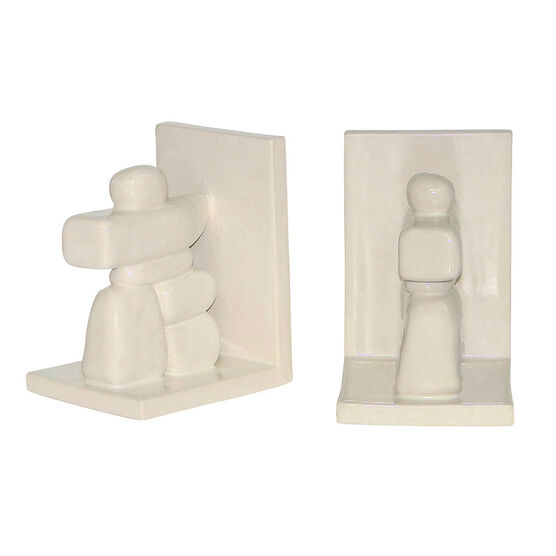 London Drugs Earthenware Bookends - Inukhshuk - Set of 2