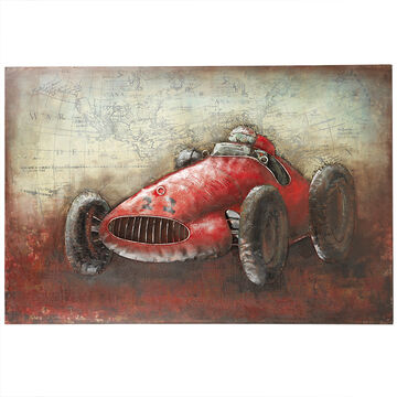 London Drugs Metal Print Antique Race car