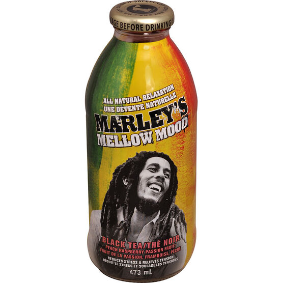 Marley's Mellow Mood - Black Tea with Peach Raspberry - 473ml
