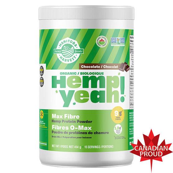 Manitoba Harvest Hemp Protein - Dark Chocolate - 454g