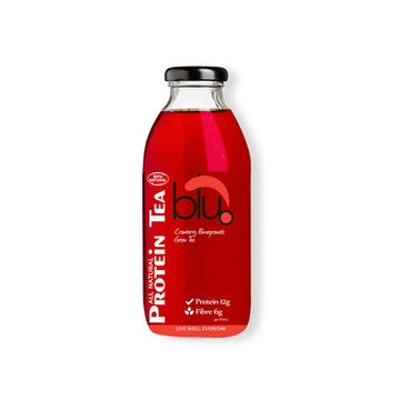 Blu-Dot Protein Tea - Cranberry Pomegranate - 473ml