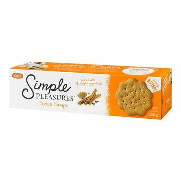 Dare Simple Pleasure Spice Snaps - 350g