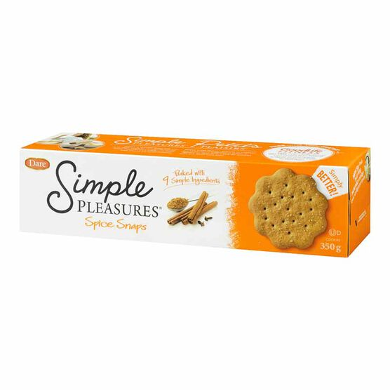 Dare Simple Pleasure Spice Snaps - 350g