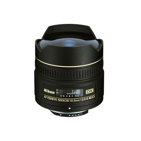 Nikon AF Nikkor D G DX 10.5mm f/2.8 IF ED Lens
