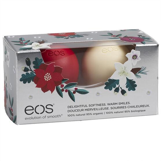 eos Lip Balm - Vanilla Bean Berry - 2 x 7g